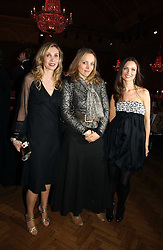 Left to right, ALLEGRA HICKS, BAY GARNETT and GEORGINA CHAPMAN at the 6th annual Lancome Colour Design Awards in association with CLIC Sargent Cancer Care held at Lindley Hall, Victoria, London on 28th November 2006.<br />