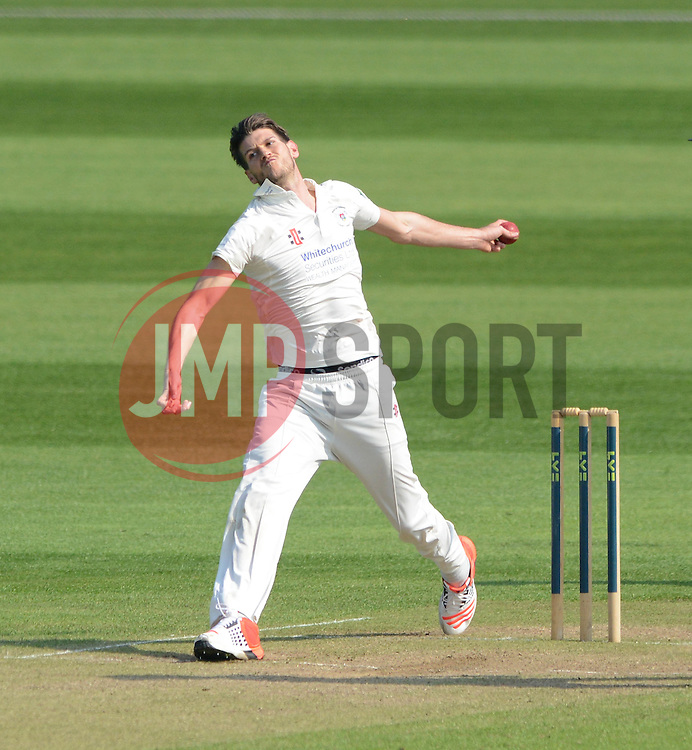 Gloucestershire's David Payne - Photo mandatory by-line: Dougie Allward/JMP - Mobile: 07966 386802 - 09/04/2015 - SPORT - Cricket - Bristol - County Cricket Ground - Gloucestershire County Cricket Club v Cardiff MCCU - Marylebone Cricket Club University Matches