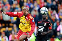 FOOTBALL - FRENCH CHAMPIONSHIP 2010/2011 - L1 - RC LENS v STADE RENNAIS - 17/10/2010 - PHOTO ERIC BRETAGNON / DPPI - TOIFILOU MAOULIDA (RCL)