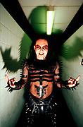 """""""Cradle Of Filth"""" band member posing, UK 2000's"""