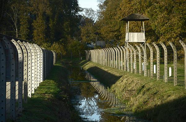 Nederland, Vught, 15-11-2013Het nationaal monument kamp Vught, waar in de 2e wereldoorlog joden en andere door de bezetter gevangen genomen mensen werden opgesloten en van hieruit getransporteerd naar vernietigingskampen.Foto: Flip Franssen/ Hollandse Hoogte