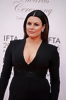 Lisa Cannon at the IFTA Film & Drama Awards (The Irish Film & Television Academy) at the Mansion House in Dublin, Ireland, Saturday 9th April 2016. Photographer: Doreen Kennedy