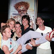 ONM bij Saturday Night Fever, Pim veth, Sander Foppele, Tim Zweije, Sebastiaan Labrie en Timon Moll