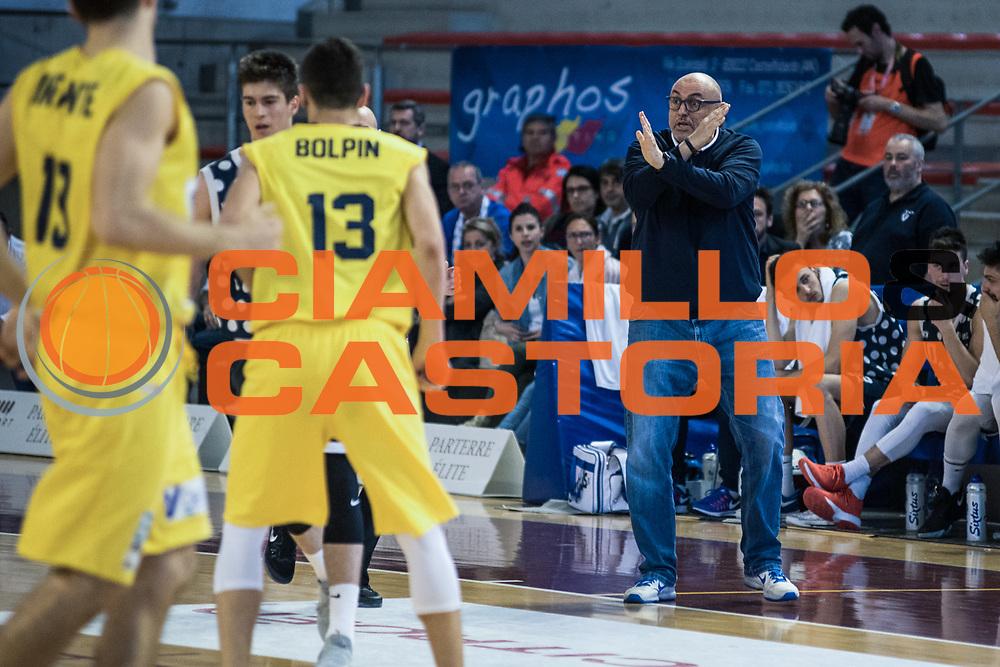 Boniciolli<br /> U.S. Basket Recanati - Kontatto Fortitudo Basket Bologna<br /> Lega Nazionale Pallacanestro 2016/2017<br /> Recanati 09/04/2017<br /> Foto Ciamillo-Castoria