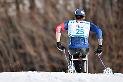 WAGNER Jeremy USA LW11.5 competing in the ParaSkiDeFond, Para Nordic Skiing, Sprint at  the PyeongChang2018 Winter Paralympic Games, South Korea.