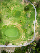 Aerial view of San Clemente Municipal Golf Course.