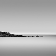 A minimal interpretation of Whale Cove in Nova Scotia.