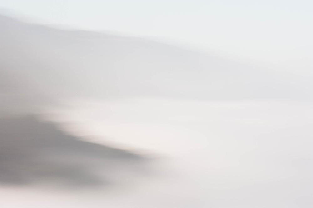 Fog at Ptarmigan Point, Big Sur, California  2007