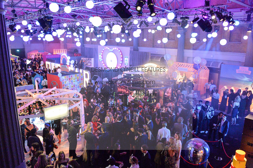 General view at The Naked Heart Foundation's Fabulous Fund Fair hosted by Natalia Vodianova and Karlie Kloss at Old Billingsgate Market, 1 Old Billingsgate Walk, London on 20th February 2016.