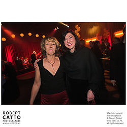 Jean Johnston;Mary Connelly at the Film Wellington 10th Anniversary Celebration at the Front Room, Wellington, New Zealand.<br />