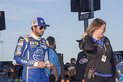 November 2, 2018 - Ft. Worth, Texas, United States of America - Chase Elliott (9) hangs out on pit road prior to qualifying for the AAA Texas 500 at Texas Motor Speedway in Ft. Worth, Texas. (Credit Image: © Justin R. Noe Asp Inc/ASP via ZUMA Wire)
