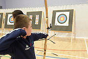 7th September 2013<br /> Archery GB start their training at Bishop Burton College, East Yorkshire.