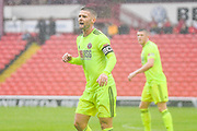 Sheffield United Oliver Norwood (16) in action during the Pre-Season Friendly match between Barnsley and Sheffield United at Oakwell, Barnsley, England on 27 July 2019.
