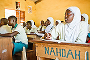 Nahdah Islamic Junior Secondary school, Tamale, Northern Region, Ghana on Thursday November 3, 2011.