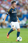 FRISCO, TX - AUGUST 11:  Robbie Keane #7 of the Los Angeles Galaxy controls the ball against FC Dallas on August 11, 2013 at FC Dallas Stadium in Frisco, Texas.  (Photo by Cooper Neill/Getty Images) *** Local Caption *** Robbie Keane