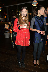 DANIELLE COPPERMAN at the Launch Of Osman Yousefzada's 'The Collective' 4th edition with special guest collaborator Poppy Delevingne held in the Rumpus Room at The Mondrian Hotel, 19 Upper Ground, London SE1 on 24th November 2014, sponsored by Storm models and Beluga vodka.