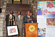 Rev Dennis is honored at The MS State Capitol Tuesday March 22 as part of the MAC Commissions day at the Capitol with a Proclamation declaring Preservation Awareness week March 20-26 2011. Preacher will turn 96 March 25,2011  Photo©Suzi Altman