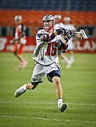 DENVER, CO - JULY 4: Ryan Tucker #16 of the Boston Cannons during their MLL game against the Denver Outlaws at Sports Authority Field at Mile High on July 4, 2015 in Denver, Colorado. (Photo by Marc Piscotty/Getty Images) *** Local Caption *** Ryan Tucker