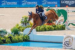 Goldstein Danielle, ISR, Lizziemary<br /> World Equestrian Games - Tryon 2018<br /> © Hippo Foto - Dirk Caremans<br /> 20/09/2018