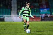 Forest Green Rovers Charlie Cooper(20) on the ball during the Vanarama National League match between Eastleigh and Forest Green Rovers at Arena Stadium, Eastleigh, United Kingdom on 10 January 2017. Photo by Shane Healey.