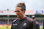 Saracens Mike Ellery (23) before the Aviva Premiership semi final match between Exeter Chiefs and Saracens at Sandy Park, Exeter, United Kingdom on 20 May 2017. Photo by Gary Learmonth.