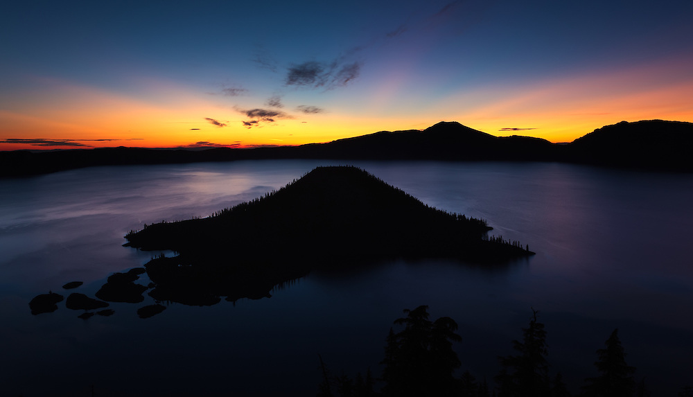 Crater Lake 6-34 AM