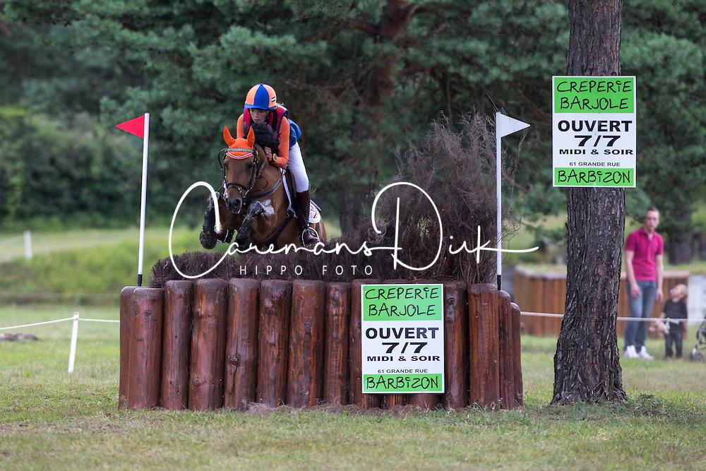 Knape Nina (NED) - Anydale For Pleasure<br /> European Championship Poney - Fontainebleau 2012<br /> © Dirk Caremans