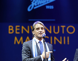 June 13, 2017 - Saint Petersburg, Russia - June 13, 2017. - Russia, Saint Petersburg. - FC Zenit's head coach Roberto Mancini is seen here at the Leningrad Center in St. Petersburg during his introduction ceremony. (Credit Image: © Russian Look via ZUMA Wire)