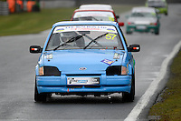 #57 Ryan Bowron Ford Escort XR3i during Lee Bowron Ltd XR Challenge - Qualifiying  as part of the Easter Family Fun Day - Oulton Park Fosters at Oulton Park, Little Budworth, Cheshire, United Kingdom. March 28 2016. World Copyright Peter Taylor/PSP. Copy of publication required for printed pictures.  Every used picture is fee-liable. http://archive.petertaylor-photographic.co.uk