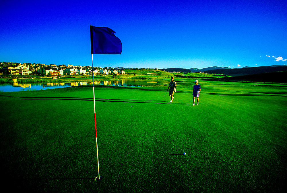 Golf Course, Littleton, Colorado USA