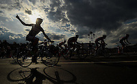 LONDON UK 31ST JULY 2016:  London. The Prudential RideLondon-Surrey Classic  in London 31st July 2016<br /> <br /> Photo: Jon Buckle/Silverhub for Prudential RideLondon<br /> <br /> Prudential RideLondon is the world's greatest festival of cycling, involving 95,000+ cyclists – from Olympic champions to a free family fun ride - riding in events over closed roads in London and Surrey over the weekend of 29th to 31st July 2016. <br /> <br /> See www.PrudentialRideLondon.co.uk for more.<br /> <br /> For further information: media@londonmarathonevents.co.uk