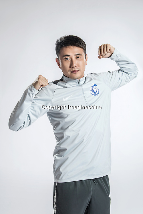 **EXCLUSIVE**Portrait of Chinese soccer player Wang Liang of Dalian Yifang F.C. for the 2018 Chinese Football Association Super League, in Foshan city, south China's Guangdong province, 11 February 2018.