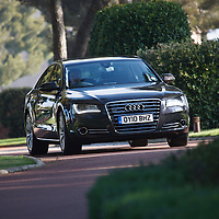 2010 Audi A8, A8 Launch Le Castellet France