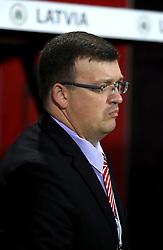 Dainis Kazakevics, Latvia manager