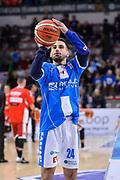 Rok Stipcevic<br /> Banco di Sardegna Dinamo Sassari - Openjobmetis Varese<br /> Legabasket Serie A LBA PosteMobile 2017/2018<br /> Sassari, 25/03/2018<br /> Foto L.Canu / Ciamillo-Castoria