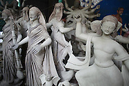 Bangladesh - Clay Sculpting In Preparation For Durga Puja - 23 Sep 2016