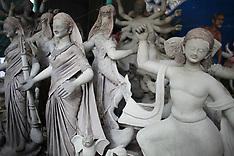 Bangladesh - Clay Sculpting In Preparation For Durga Puja - 23 Sep 2016