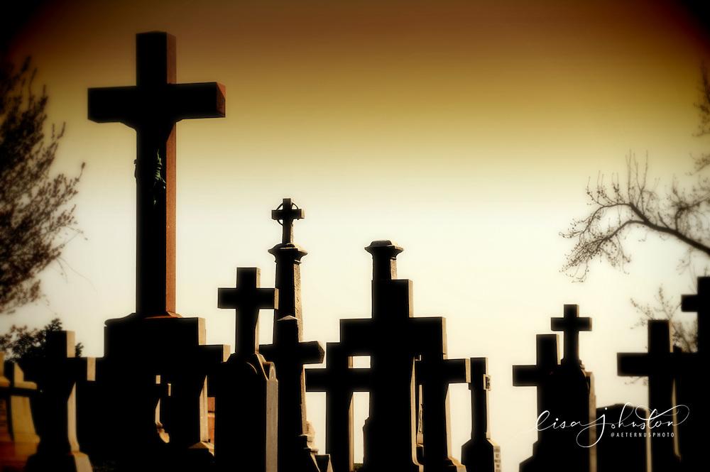 Lisa Johnston   lisa@aeternus.com   Tiwtter: @aeternusphoto Cavlary Cemetery.