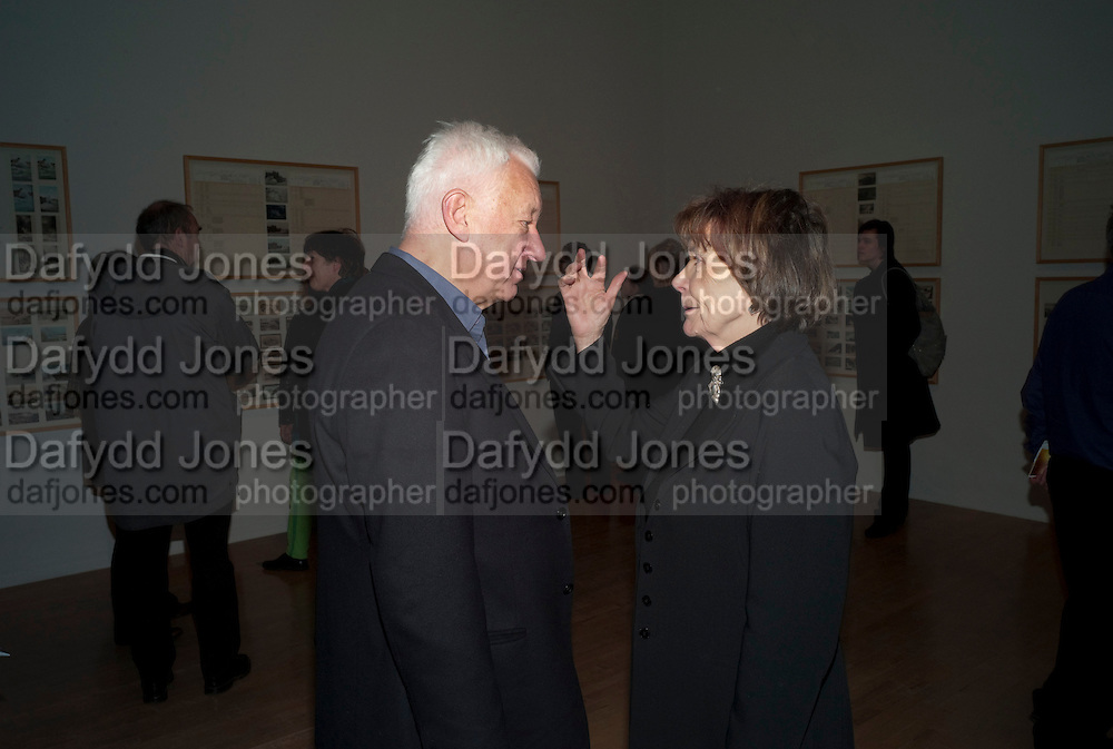 MICHAEL CRAIG-MARTIN; JOAN BAKEWELL, Susan Hiller opening, Tate Britain. 31 January 2010. -DO NOT ARCHIVE-© Copyright Photograph by Dafydd Jones. 248 Clapham Rd. London SW9 0PZ. Tel 0207 820 0771. www.dafjones.com.