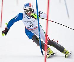 13.03.2010, Goudyberg Herren, Garmisch Partenkirchen, GER, FIS Worldcup Alpin Ski, Garmisch, Men Slalom, im Bild Missillier Steve, ( FRA, #17 ), Ski Dynastar, EXPA Pictures © 2010, PhotoCredit: EXPA/ J. Groder / SPORTIDA PHOTO AGENCY