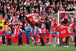 Guard of honor before the match - Photo mandatory by-line: Rogan Thomson/JMP - 07966 386802 - 25/01/2015 - SPORT - FOOTBALL - Bristol, England - Ashton Gate Stadium - Bristol City v West Ham United - FA Cup Fourth Round Proper.