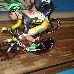 27-12-2014: Wielrennen: NK Baanwielrennen: Apeldoorn (187) Melvin van Zijl (Harderwijk)