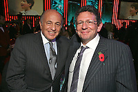 Doug Morris, Chairman and CEO, Universal Music Group and Lucian Grainge (MIT Awards recipient and Universal Music Group International Chairman/CEO) and U2