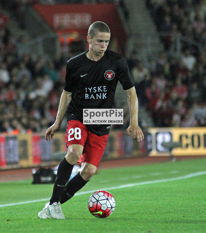 Andre Romer During Southampton FC vs Fc Midtjylland on Thursday the 20th August 2015.