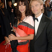 NLD/Rotterdam/20060522 - Uitreiking Musical Awards 2006, Isa Hoes en partner Anthonie Kamerling