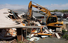 Christchurch-Bexley homes bulldozed