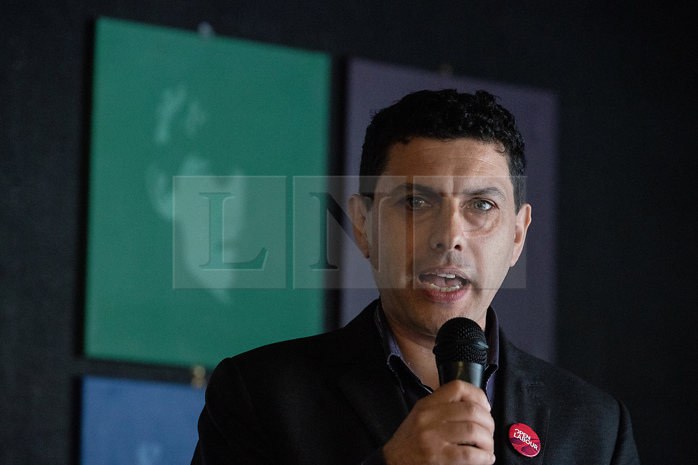 © Licensed to London News Pictures . 23/09/2018. Liverpool, UK. ALEX SOBEL MP at a rally by The Jewish Labour Movement at The Liverpool Pub in central Liverpool during the first day of the 2018 Labour Party Conference . Photo credit: Joel Goodman/LNP
