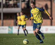 FODBOLD: Gregers Arndal-Lauritzen (Brøndby IF) under kampen i Reserveligaen mellem Brøndby IF og FC Helsingør den 6. november 2017 på Brøndby Stadion, bane 2. Foto: Claus Birch