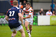 Bradford Bulls replacement Brandon Wilkinson (21) in action  during the Kingstone Press Championship match between Swinton Lions and Bradford Bulls at the Willows, Salford, United Kingdom on 20 August 2017. Photo by Simon Davies.