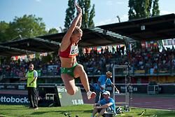 KANIUK Anna, BLR, Long Jump, T12, 2013 IPC Athletics World Championships, Lyon, France